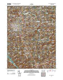USGS US Topo 7.5-minute map for West Chester, PA 2010 - ScienceBase Chester Pa Map on