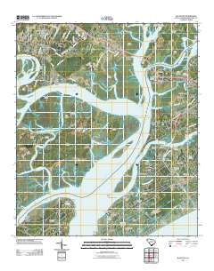 Usgs Us Topo 7 5 Minute Map For Bluffton Sc 2011 Sciencebase Catalog