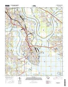Usgs Us Topo 7 5 Minute Map For Charleston Sc 2017 Data Gov