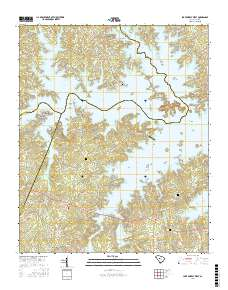lake murray topographic map Usgs Us Topo 7 5 Minute Map For Lake Murray West Sc 2017 Sciencebase Catalog lake murray topographic map