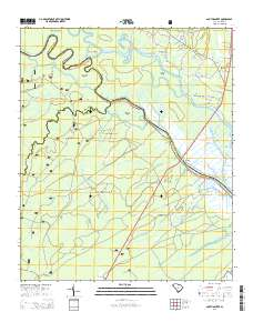 USGS US Topo 7.5-minute map for South Santee, SC 2014 - ScienceBase ...