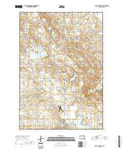 Usgs Us Topo 75 Minute Map For Clear Lake North Sd 2017 - Clear-us-map