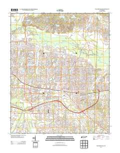 USGS US Topo 75minute map for Collierville TN 2013 ScienceBase