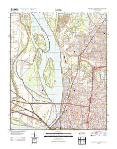 USGS US Topo 7.5-minute map for Northwest Memphis, TN-AR 2013 ...