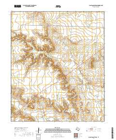 USGS US Topo 7 5-minute map for Big Spring North NE, TX 2019