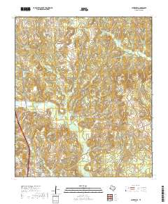 Usgs Us Topo 7 5 Minute Map For Centerville Tx 2019 Data Gov