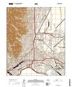 USGS US Topo 7.5-minute map for El Paso, TX,CHH 2019 - Data.gov