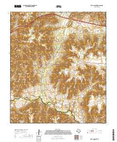 USGS US Topo 7 5-minute map for Fort Lancaster, TX 2019