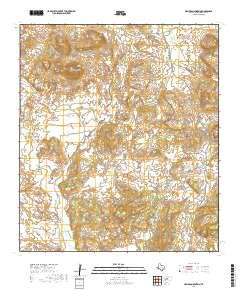 USGS US Topo 7 5-minute map for Hen Egg Mountain, TX 2019