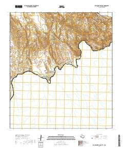 Usgs Us Topo 75 Minute Map For Rio Grande Village Txcoa 2019 - Rio-grande-on-us-map