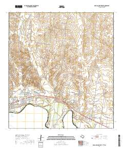 USGS US Topo 7 5-minute map for Roma-Los Saenz East, TX,TAM