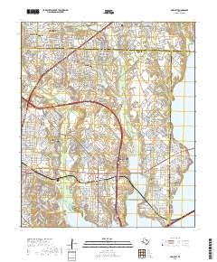 Usgs Us Topo 7 5 Minute Map For Rowlett Tx 2019 Data Gov