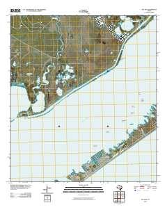 USGS US Topo 7.5-minute map for Sea Isle, TX 2010 - Data.gov Map Of Sea Isle Texas on