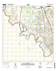USGS US Topo 75minute map for West Brownsville TXTAM 2016