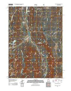 USGS US Topo 7 5-minute map for Lyman Lake, UT-WY 2011