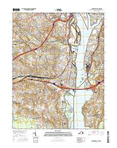 USGS US Topo 7.5-minute map for Alexandria, VA-DC-MD 2016 ...
