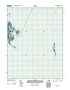 Tangier Island Virginia Map.Usgs Us Topo 7 5 Minute Map For Tangier Island Va 2011