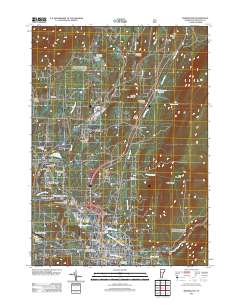 Bennington County Vermont USGS Topographic Maps on CD