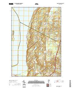 Map Of Georgia Vermont.Usgs 1 24 000 Georgia Plains Vermont 14 00 Charts And Maps
