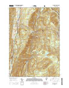 USGS US Topo 7.5-minute map for Wallingford, VT 2015 ...