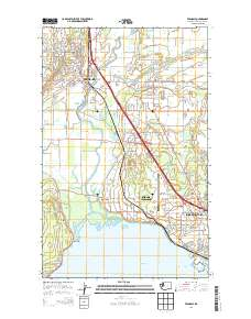 Ferndale Washington Map.Usgs Us Topo 7 5 Minute Map For Ferndale Wa 2014 Sciencebase Catalog