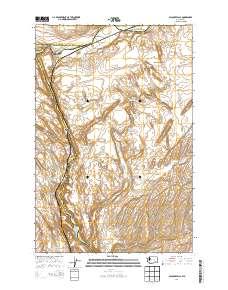 Palouse Falls Washington Map.Usgs Us Topo 7 5 Minute Map For Palouse Falls Wa 2014 Sciencebase