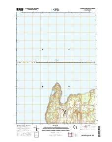 USGS US Topo 7 5-minute map for Washington Island NW, WI-MI