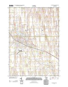 USGS US Topo 7.5-minute map for Watertown, WI 2013 ...