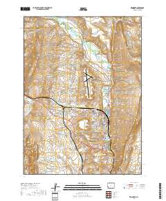 Kemmerer Wyoming Map.Usgs Us Topo 7 5 Minute Map For Kemmerer Wy 2017 Sciencebase Catalog