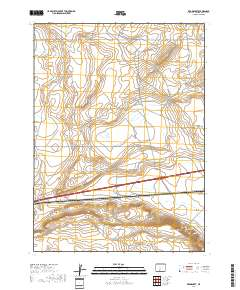 Usgs Us Topo 7 5 Minute Map For Red Desert Wy 2017