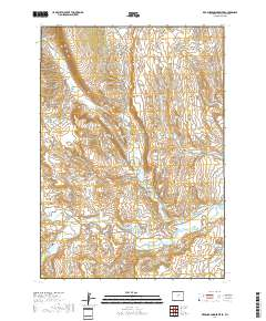 Powder River Wyoming Map.Usgs Us Topo 7 5 Minute Map For Red Fork Powder River Wy 2017