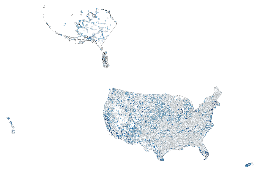 United States Map With Scale.Usgs Small Scale Dataset Global Map Cities And Towns Of The