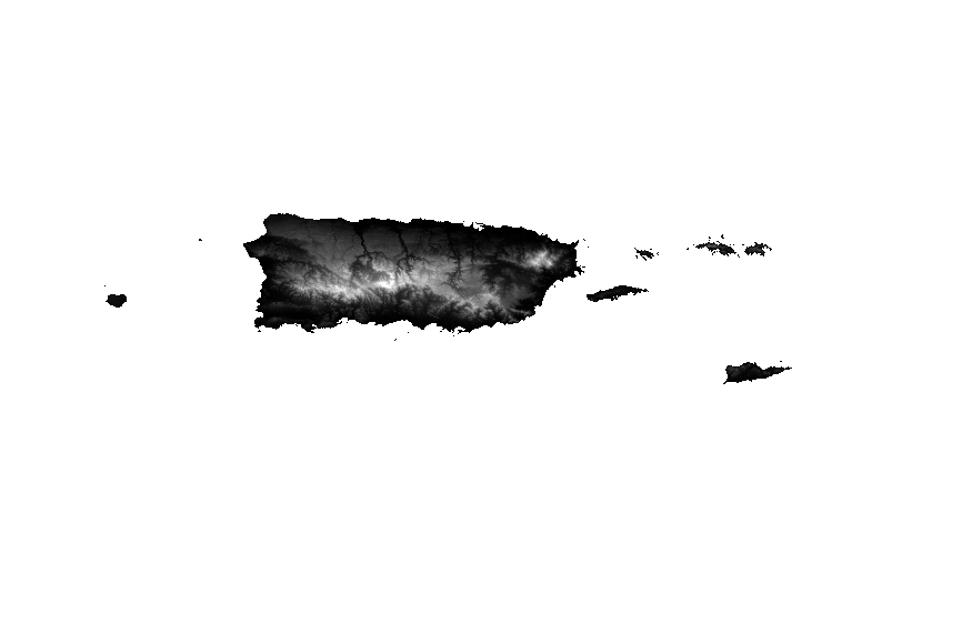 Usgs Small Scale Dataset Global Map 100 Meter Resolution - Map-of-us-virgin-islands-and-puerto-rico