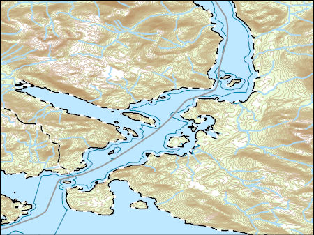 Usgs topo map vector data vector 335606 sitka b 5 nw alaska thumbnail jpg image gumiabroncs Choice Image