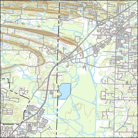 USGS Topo Map Vector Data (Vector) 6596 Cabot, Arkansas 20180205 for ...