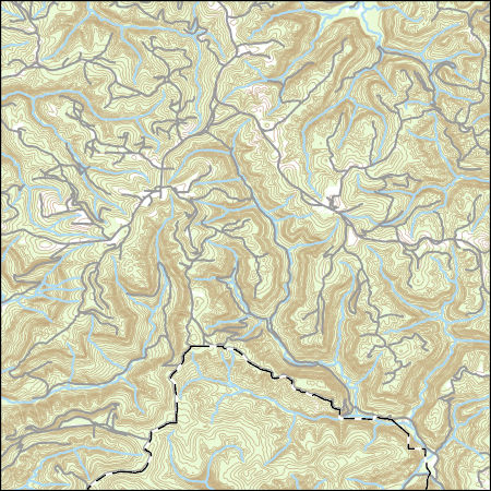 USGS Topo Map Vector Data (Vector) 11718 Deer, Arkansas 20180205 for ...