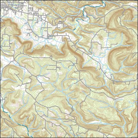 Usgs Topo Map Vector Data Vector 30956 Mountain View Arkansas