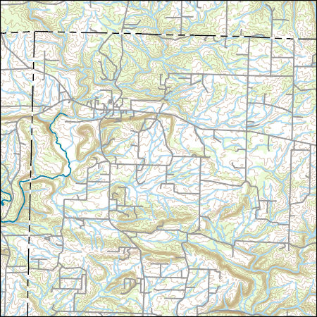 USGS Topo Map Vector Data (Vector) 71443 Rose Bud, Arkansas 20180206 ...