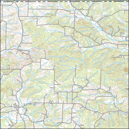 USGS Topo Map Vector Data (Vector) 46979 Viola, Arkansas 20180206 ...