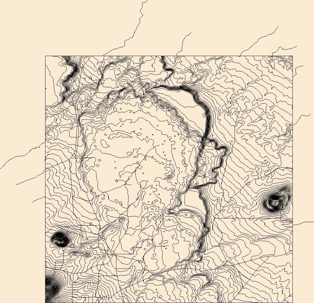 Az Topographic Map.Usgs Topo Map Vector Data Vector 38412 Roden Crater Arizona