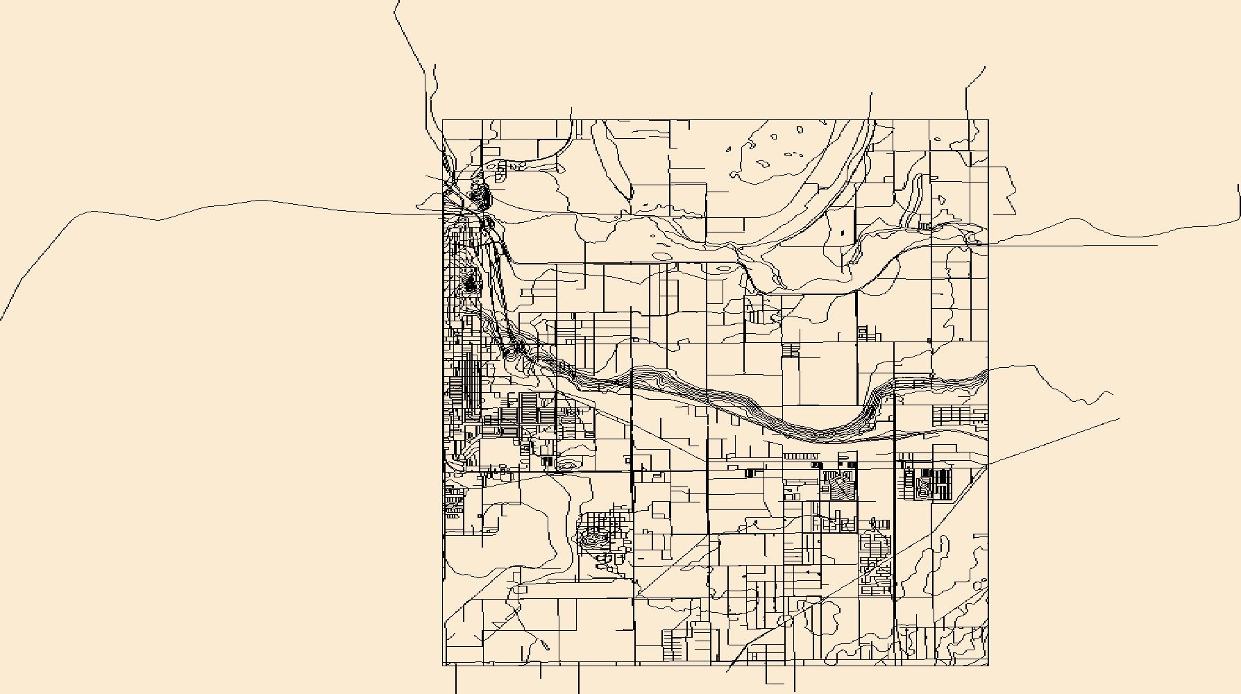 Topo Map Of Arizona.Usgs Topo Map Vector Data Vector 50193 Yuma East Arizona 20180807