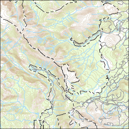 USGS Topo Map Vector Data (Vector) 27389 Mammoth Mountain ... California Topo Map on