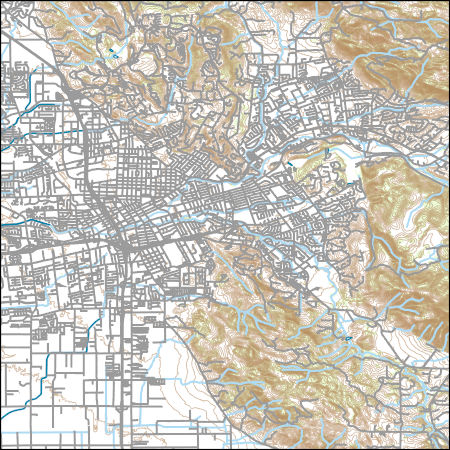 Santa Rosa California Map.Usgs Topo Map Vector Data Vector 39912 Santa Rosa California