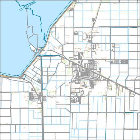 Belle Glade Florida Map.Usgs Topo Map Vector Data Vector 3162 Belle Glade Florida