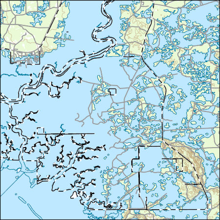 USGS Topo Map Vector Data (Vector) 13469 East Pass, Florida 20180626 ...