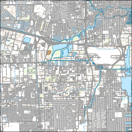 Usgs Topo Map Vector Data Vector 15939 Fort Lauderdale South