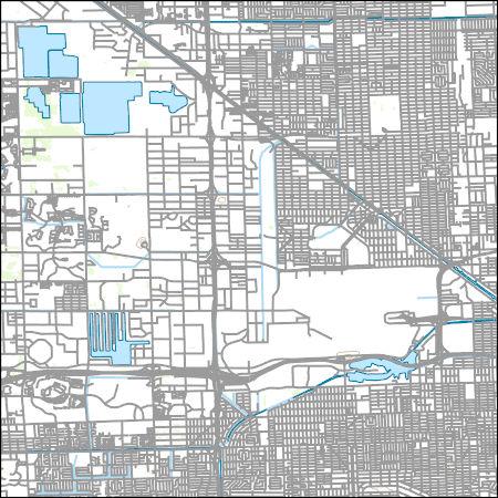 Hialeah Florida Map.Usgs Topo Map Vector Data Vector 20271 Hialeah Florida 20180626