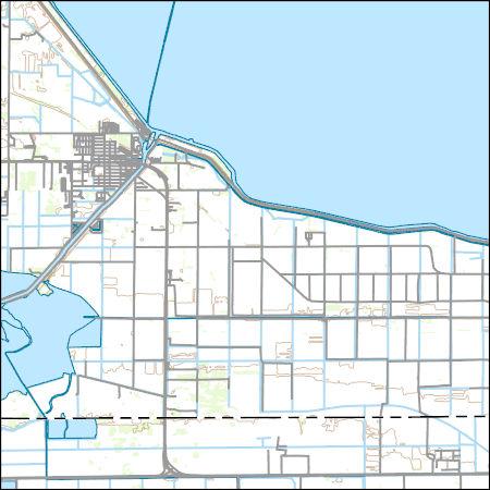 Moore Haven Florida Map.Usgs Topo Map Vector Data Vector 30107 Moore Haven Florida