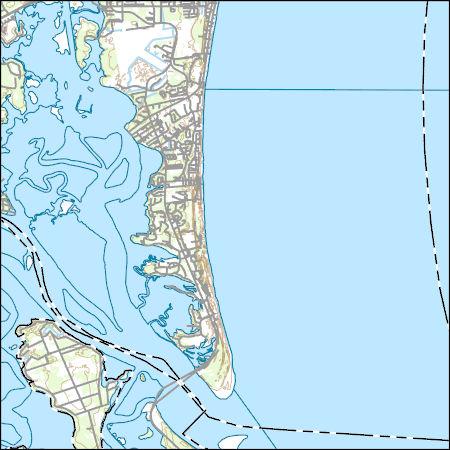 Amelia City Florida Map.Usgs Topo Map Vector Data Vector 848 Amelia City Florida 20180626