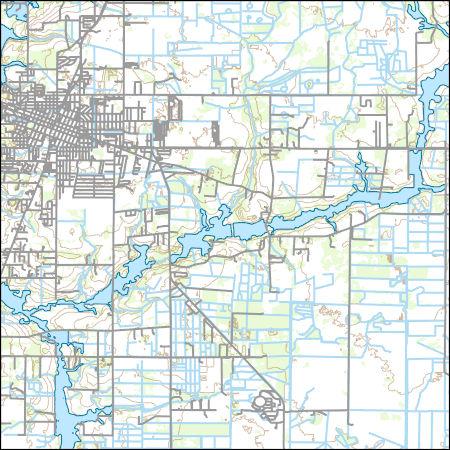 Arcadia Florida Map.Usgs Topo Map Vector Data Vector 1326 Arcadia Florida 20180626